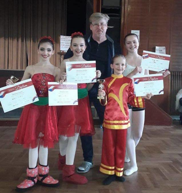 Baletní studio excelovalo na soutěži v Jihlavě!